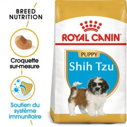 Croquettes pour chiot Shih Tzu junior Royal canin