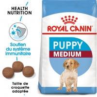 Croquettes pour jeune chien/chiot Royal Canin Medium Puppy