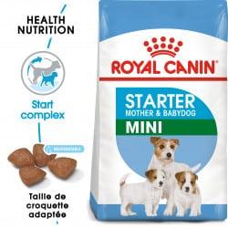 Croquettes pour sevrage petit chiot Royal Canin Mini Starter