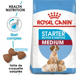 Croquettes pour sevrage chiot Royal Canin Medium Starter