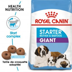 Croquettes pour sevrage chiot Royal Canin Giant Starter