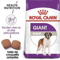 Croquettes pour très grand chien adulte Royal Canin Giant