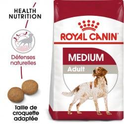 Croquettes pour chien moyen adulte Royal Canin