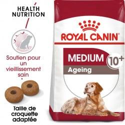 Croquettes pour chien moyen senior adulte Royal Canin 10+