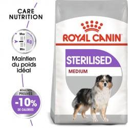Croquettes pour chien stérilisé Royal Canin Medium Sterilised