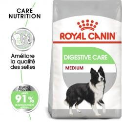 Croquettes pour chien spéciale digestion Royal Canin Medium Digestive Care