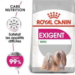 Croquettes pour petit chien difficile Royal Canin Mini Exigent
