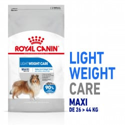 Croquettes light pour chien Royal Canin Maxi Weight Care