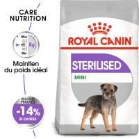 Croquettes pour petit chien Royal Canin stérilisé