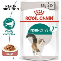 Émincés  pour chat Royal Canin: Instinctive +7