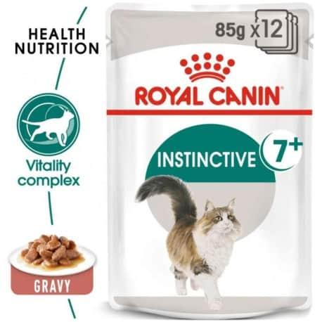 Sachets pour chat Royal Canin: Instinctive +7