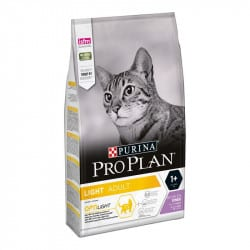 Croquettes pour chat en surpoids Purina ProPlan Light