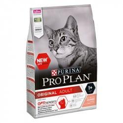 Croquettes pour chat au saumon Purina ProPlan Adult
