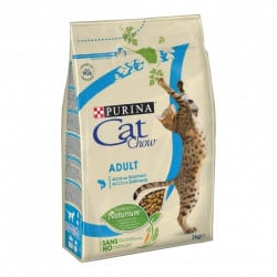 Croquettes pour chat Purina Cat Chow au saumon/thon