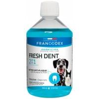 Solution bucco-dentaire Fresh dent pour chat et chien
