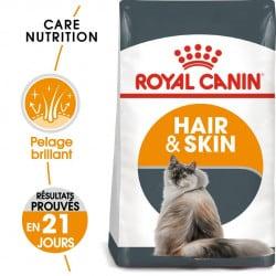 Croquettes pour chat, beauté du pelage Royal-Canin : Hair & Skin 33