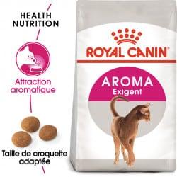 Croquettes Royal-Canin Exigent 33 Aromatic pour chat sensible aux odeurs