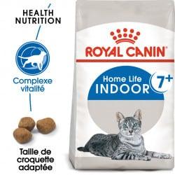 Croquettes chat d'intérieur mature Royal-Canin Indoor 7+