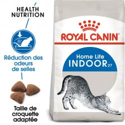 Croquettes pour chat d'intérieur Royal-Canin Indoor 27