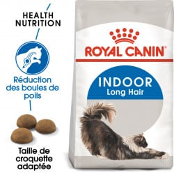 Croquettes pour chat d'intérieur poil à long Royal-Canin Indoor Long Air