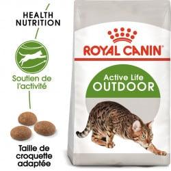 Croquettes pour chat d'extérieur Royal-Canin Outdoor 30