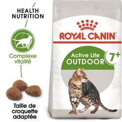 Croquettes chat d'extérieur mature Royal-Canin Outdoor 7+