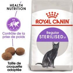 Croquettes pour chat stérilisé Royal-Canin Sterilised 37