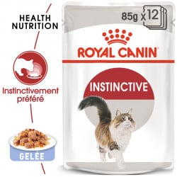 Émincés pour chat Royal canin instinctive