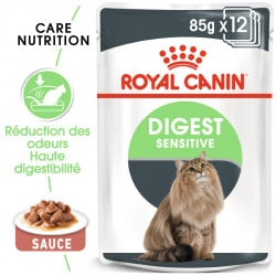 Émincés pour chat Royal Canin: digestion sensible