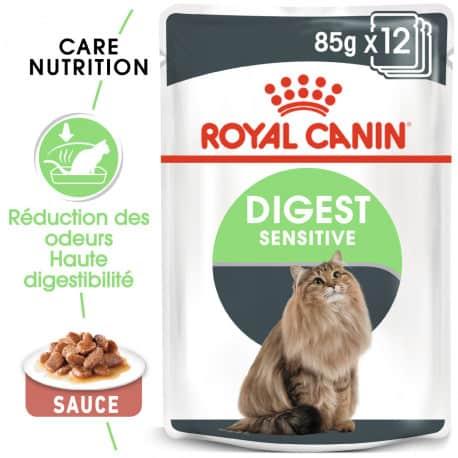 Sachets pour chat Royal Canin: Digest Sensitiv x12