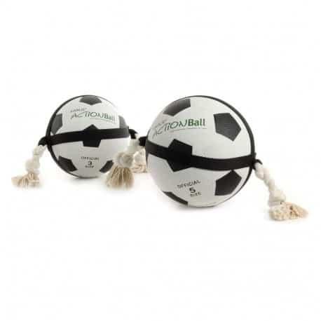 Action ballon Foot 22CM pour chien