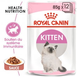 Émincés pour chaton Royal Canin Kitten instinctive