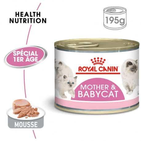 Royal-Canin pour chat : Babycat instinctive boîte de pâté