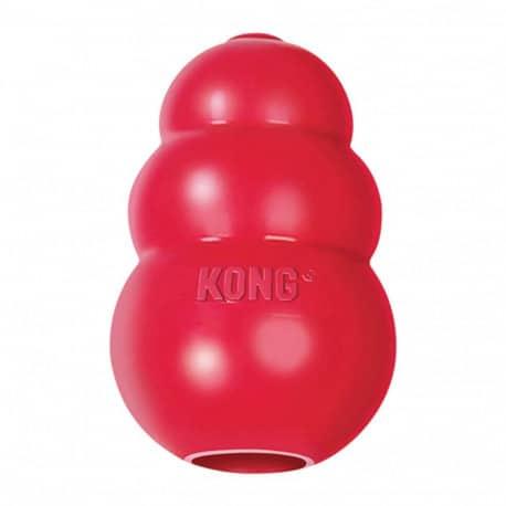 Kong classic Rouge - Jouet pour chien très solide