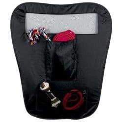 Cloison de sécurité de voiture pour chien, 60 x 44 x 69cm - Noir