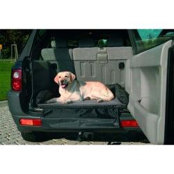 Lit de coffre pour chien, spécial transport - Gris/Noir