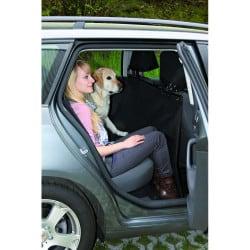 Couverture pour banquette arrière pour chien - Noir