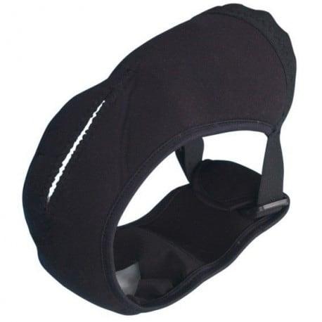Slip de protection noir pour chien femelle, idéal pour les chaleurs