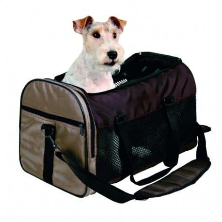 Sac de transport Samira pour chien et chat Marron/Beige