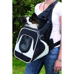 Sac de transport ventral Savina pour chien/chat, 30 x 33 x 26cm