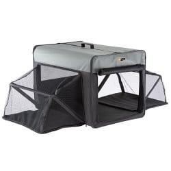 Caisse de transport holiday scenic en tissu pour chien