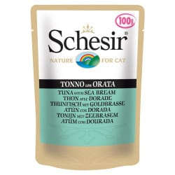 Aliment humide Schesir gelée pour chat