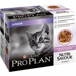 Pâté Nutrisavour Junior Dinde pour chat