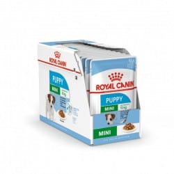 Sachets humides Royal Canin Puppy Mini 12 x 85 Gr