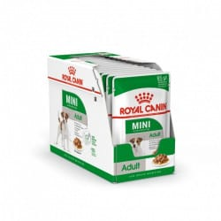 Sachets humides Royal Canin Mini Adult 12 x 85 Gr