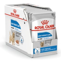 Sachets humides Royal Canin Light Weight Care 12 x 85 Gr