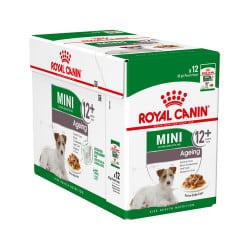 Sachets humides Royal Canin Mini Ageing 12 x 85 Gr
