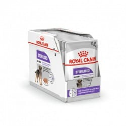 Sachets humides Royal Canin Sterilised Chien 12 x 85 Gr