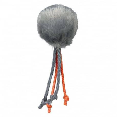 Balle en peluche avec grelot - jouet pour chat, 4cm
