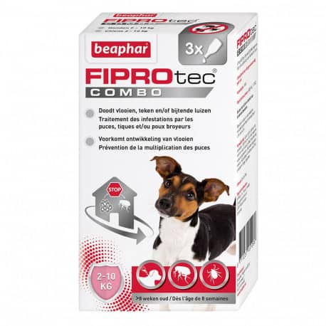 Pipettes Fiprotec Combo Chien x 3